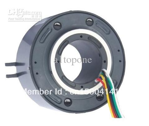 2019 25 4 Inner Hole Through Bore Slip Ring Rotary Joint