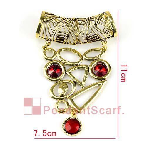 2 stks / partij, topkwaliteit DIY sieraden sjaal accessoires charme rode strass antieke bronzen legering bungelende hangers set, gratis verzending, AC0189A