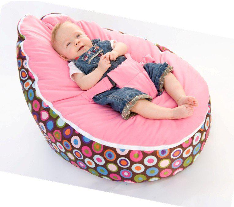 2018 Baby Beanbags Sofa Chairs Round Seat Sleeping Bed Portable ...