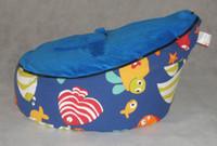 Wholesale Doomoo Bean Bag Sofa Seat - New Children Bean Bag Honey Baby Doomoo seat cover Infant Baby sofa cover Children sofa Bean Bag AA