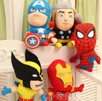 25pcs lot Hot sale 20cm plush stuffed toys Marvel The Avenge...
