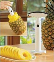 ingrosso coltelli ananas-Pratici gadget da cucina TV venditrice pelapatate ananas / ananas