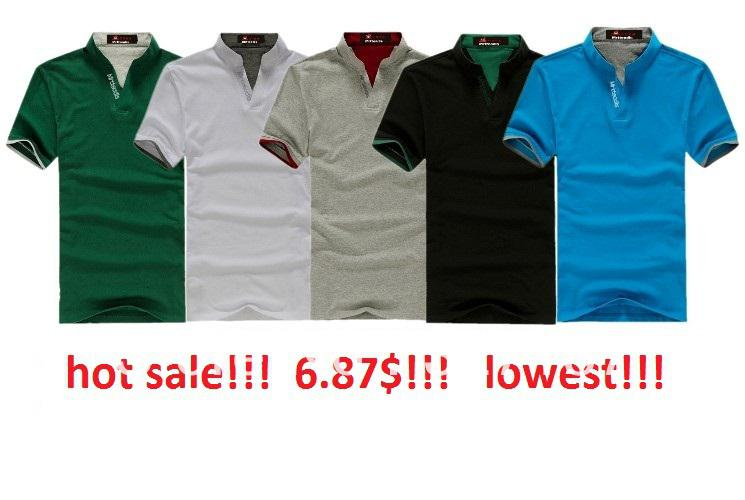Best hot sale polo shirt wholesale mens cotton multi color for Where to buy polo shirts cheap