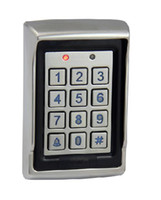 Wholesale Metal Control Panel - 2013 New Arrival Vandal Resistant Metal Proximity RFID Waterproof Access Control Keypad with dual Relay Output