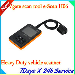 Heavy Duty Reader Canada - New arrival Vgate scan tool e-Scan H06 Heavy Duty vehicle scanner diesel truck code reader obd ii tester