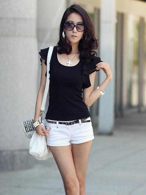 T-shirt estate 2016 Moda donna T-shirt e top donna casual pullover da donna donna manica corta indumento superiore