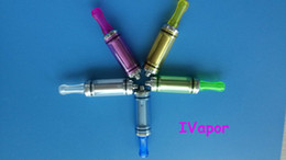 Wholesale Ego Dct V2 - 3.5ml patent DCT V2 clear cartomizer for 510-eGo thread 100pc FREE SHIPPING