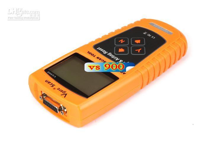 VS900 VGATE Oil / Service e Airbag Reset Tool Ferramenta de Diagnóstico Profissional Frete Grátis por DHL