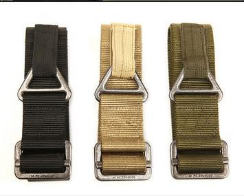 Kahki Green Hunting Rigger CQB Fire Rescue Militaria Survival gioco Tactical Belt Waist Strap