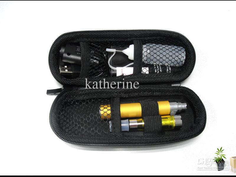 Jogos eletrônicos do cig do cigarro E do cigarro E do ego CE5 com a caixa de couro portátil 650mah 900mah bateria do eGo-T 1100mah Várias cores disponíveis