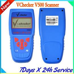 Wholesale Auto Diagnostic Equipment - V-Checker VChecker V500 Scanner Super Car Diagnostic Equipment auto diagnostic tool-multilanguage