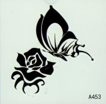 Tatouages temporaires de tatouage temporaire de tatouage/ de bras autocollants pour la peinture de corps de peinture imperméable mélange conçoit l'ordre araignées tatouant