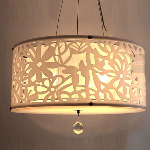 Acrylic carve flower lampshade pendant light modern hollow out acrylic carve flower lampshade pendant light modern hollow out acrylic dining room crystal pendant lamp round pendant lamp cool pendant lights farmhouse mozeypictures Image collections