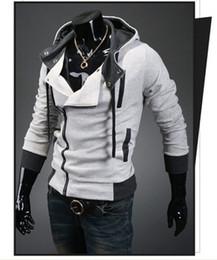 100% coton Assassin's Creed 3 Desmond Miles Hoodie Costume Manteau Veste Cosplay Sweat à capuche ? partir de fabricateur