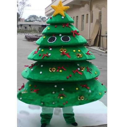hot sale christmas tree mascot adult kids costumes special made fancy dress party outfit free shipping - Christmas Tree Costume
