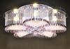 Modern Minimalist K9 Crystal Glass Ceiling Lamp Living Room Bedroom Chandelier 60*20cm