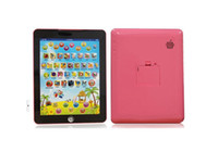 Wholesale English Ipad Toy - Hotsale english ipad toy Y pad ypad children learning machine tablet computer for kids as gift have retail box tracking number