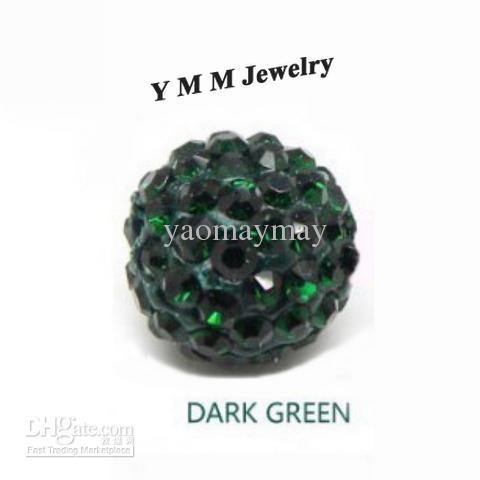 10MM جودة عالية حبات الكريستال حجر الراين ديسكو الكرة لصنع المجوهرات بالجملة شحن مجاني