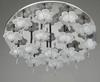 Milan Modern Minimalist K9 Crystal Glass Flowers Ceiling Lamp Living Room Bedroom Chandelier Dia 60cm H 30cm