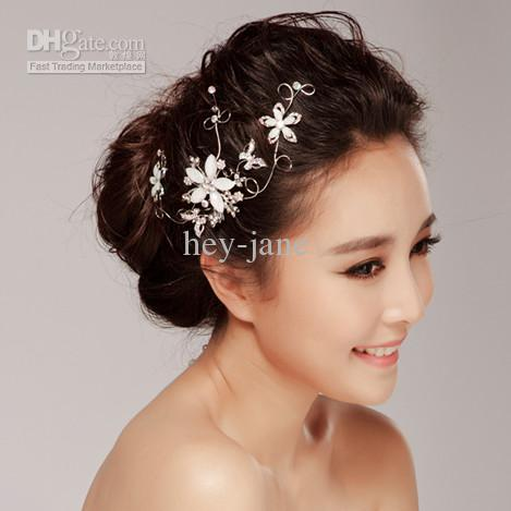 Wedding Bridal Floral Hair Clip Accessories Online With 2058 Piece On Hey Janes Store