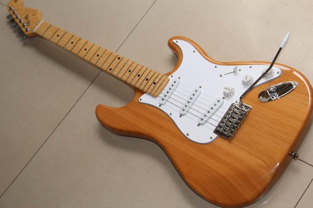 best guitar str model electric guitar wooden hot sale china natural guitar 120715 guitars online. Black Bedroom Furniture Sets. Home Design Ideas