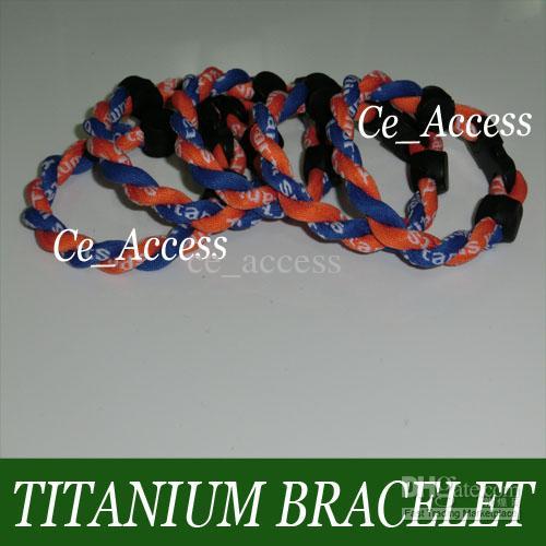 Bracelet en silicone à énergie tressée avec bande de poignet, bracelets pour les sports