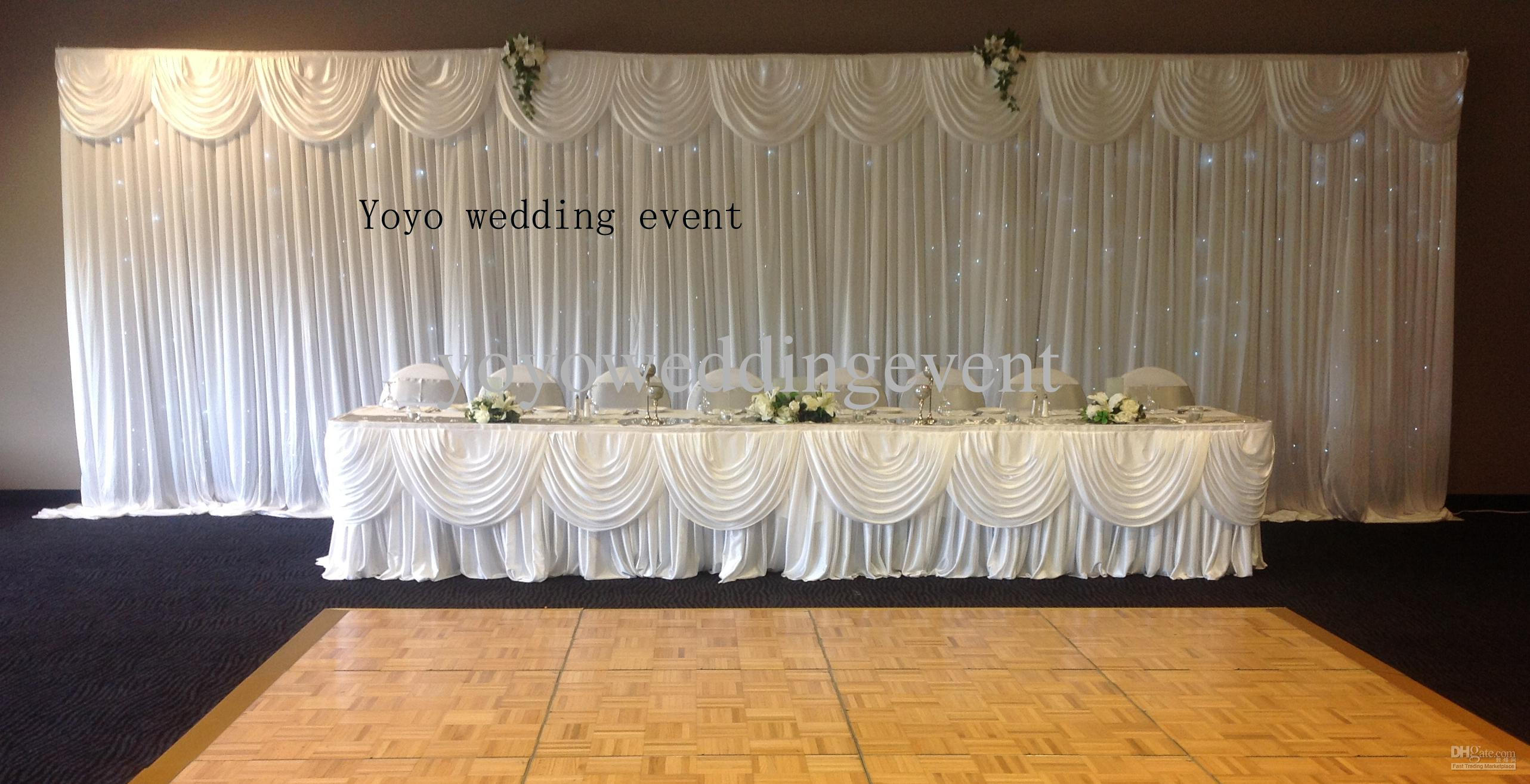 3m Drop9m Length Backdrop Stand Backdrop9m Swag 3m9mLed Curtain Light Led Online With