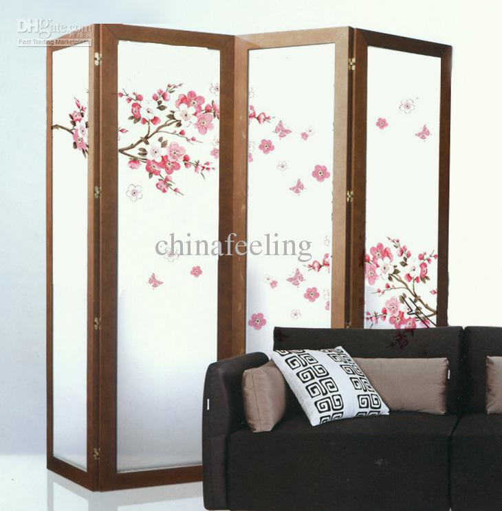 Sakura Wall Paper Flower Wall Sticker Cherry Blossom Wall Decor ...