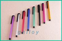 Wholesale Sanei Tablet Inch - Touch Pen Capacitive Stylus Pen Aluminum alloy Tablet pc For Sumsang Onda Ainol Sanei 7 8 9 10 inch 2pcs lot