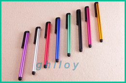Wholesale Onda Capacitive Touch Screen - Touch Pen Capacitive Stylus Pen Aluminum alloy Tablet pc For Sumsang Onda Ainol Sanei 7 8 9 10 inch 2pcs lot