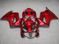 Wholesale Vfr Interceptor - Red fairing kit for HONDA VFR800RR interceptor 1998 -2001 VFR800 VFR 800RR 98 99 00 01 body repair fairings