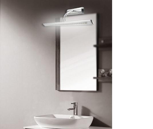 Lampada cosmetica dell'acciaio dello specchio dello specchio dello specchio dello specchio dello specchio dello specchio che agita 11W 5050 SMD 36 LED Le sue luci della testa con il commutatore della lampadina della casa