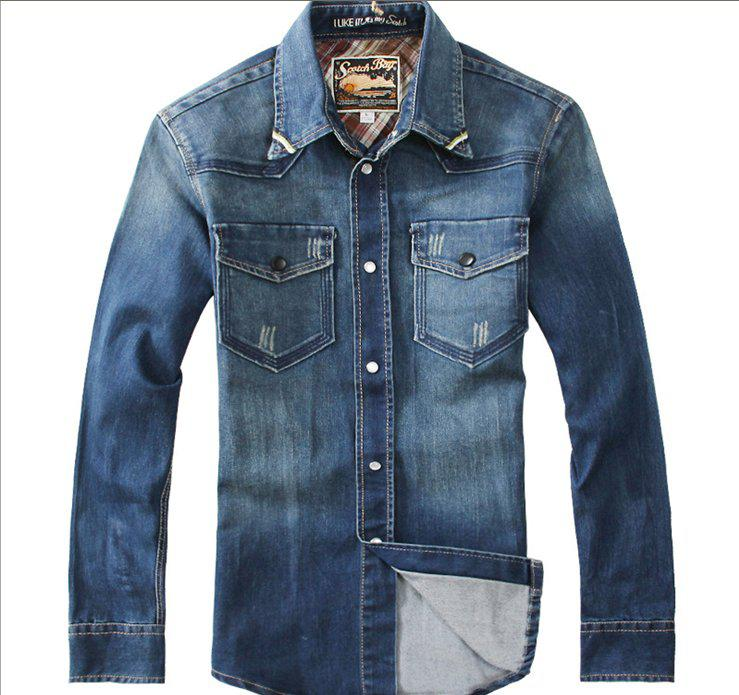 Mens Long Denim Jacket Jackets Review