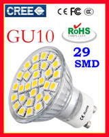 Wholesale E27 Led 29 - Cool White E27 LED Bulb Led Lamp LED SpotLight 7.5W GU10 E14 MR16 Warm 5050 SMD 29 leds Glass 110-240V Hot Sale Free Shipping
