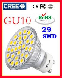 Wholesale Glass Leds - Cool White E27 LED Bulb Led Lamp LED SpotLight 7.5W GU10 E14 MR16 Warm 5050 SMD 29 leds Glass 110-240V Hot Sale Free Shipping