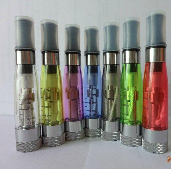 Detachable Coil head Colorful CE4+ CE5 CE6 atomizer plus upgrade ce4 for ego EGO-T series JPYE 510 E-cigarette 50pcs/lot