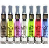ingrosso atomizzatore ego t ce4 staccabile-Testa estraibile variopinta CE4 + CE5 CE6 atomizzatore più aggiornamento ce4 per ego EGO-T serie JPYE 510 E-sigaretta 50pcs / lot