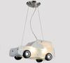Modern Cartoon Glass Jeep Car Pendant Light Children Bedroom Chandelier 43*16*20cm