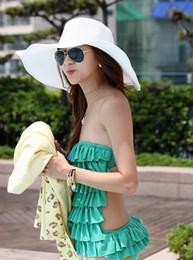 Wholesale Cowboy Church Caps Wholesale - Wholesale and Retail Fashion Women Wide Large Brim Floppy Fold Summer Beach Sun Straw Hat Cap Spotlight on Hawaii Free Shipping
