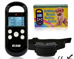 Wholesale Dog Training Collar Beeper - 2013 New arrival LCD Display pet Training Collar with Beeper and Training Collar Pet Behave Remote Training System For One Dog Cat