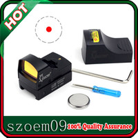 Wholesale Hunting Red Dot - Very Cool!!For Hunting Full Metal Weaver Picatinny Rail W Cover Lightweight Docter Illuminated Mini Red Dot Sight