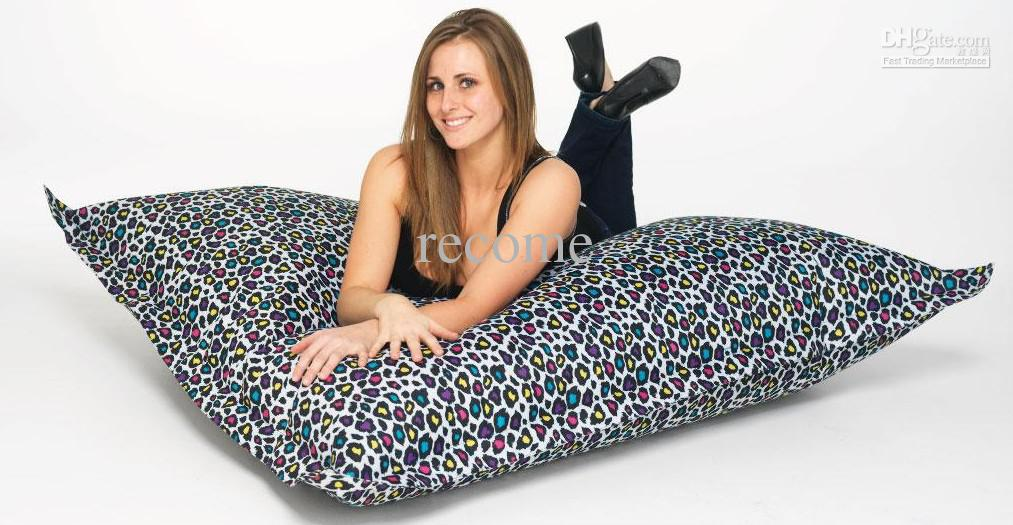 Ful Leopards Adults Floor Sitting Chair Outdoor Bean Bag