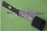 Wholesale Door Decoder - LISHI 2 in 1 Nissan NSN14 pick decoder LOCKSMITH TOOLS Lock Pick set, auto door opener O274