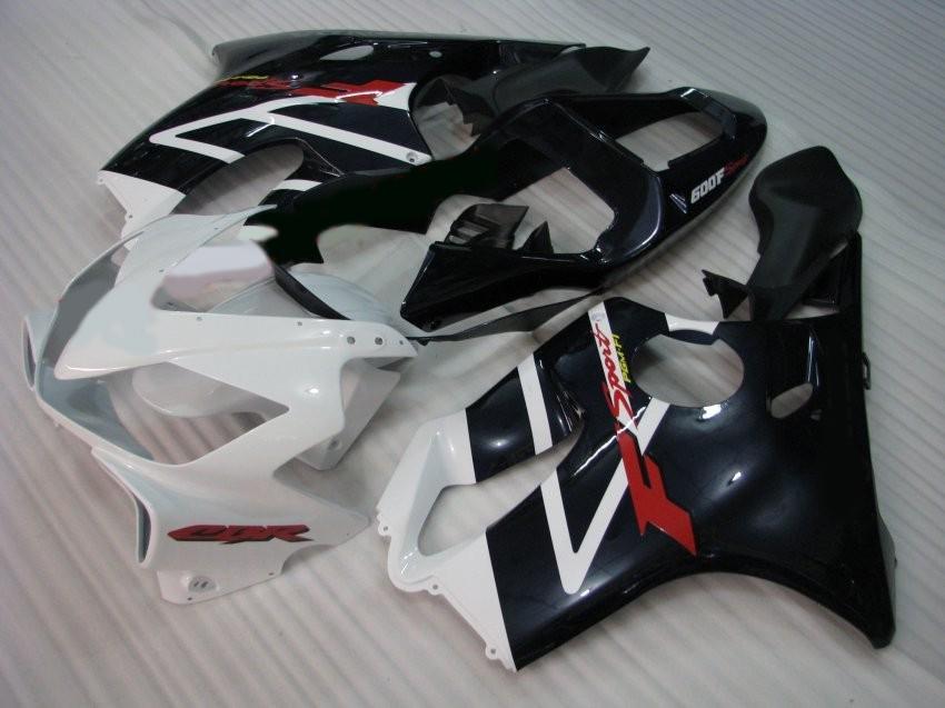Kostenlose anpassen Einspritzverkleidung Kit für Honda CBR 600 CBR600 f4i CBR600F4i 01 02 03 2001 2002 2003 Verkleidungen eingestellt