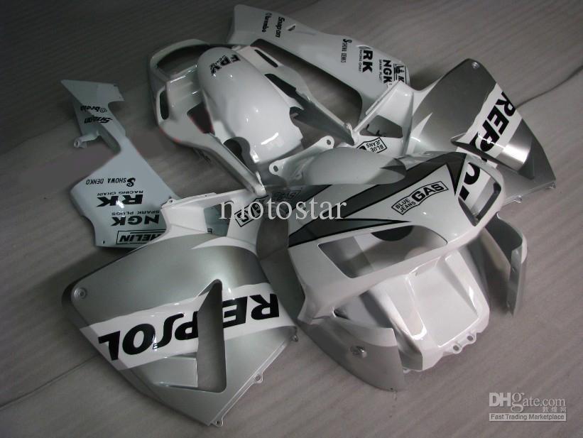 Injektionsform Repsol Fairing Kits för Honda CBR600RR 2003 2004 CBR 600RR CBR600 F5 03 04 Motorcykel Fairings Parts