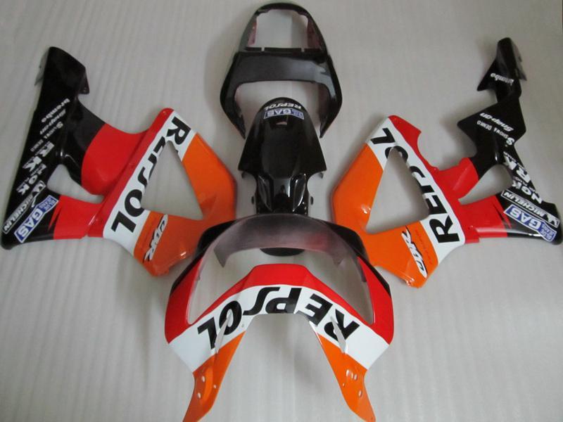 Professionele Repsol Motorfiets Fairing Kit voor HONDA CBR900RR 929 2000 2001 CBR900 929RR CBR929 00 01 CBR929RR Motorfietsverbarsting Set