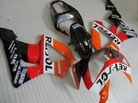 kit de carenado motocicleta honda 929 al por mayor-Juego de carenado de motocicleta profesional REPSOL para HONDA CBR900RR 929 2000 2001 CBR900 929RR CBR929 00 01 CBR929RR conjunto de carenados de motocicleta