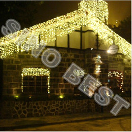 Outdoor christmas icicle lights warm white canada best selling waterproof outdoor 512 led icicle lights for garden christmas xmas holiday wedding party decorations lamps lighting garland aloadofball Choice Image