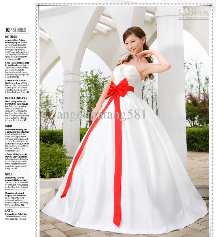 Großhandel Großes Hochzeitskleid Fettes Millimeter Hochzeitskleid ...
