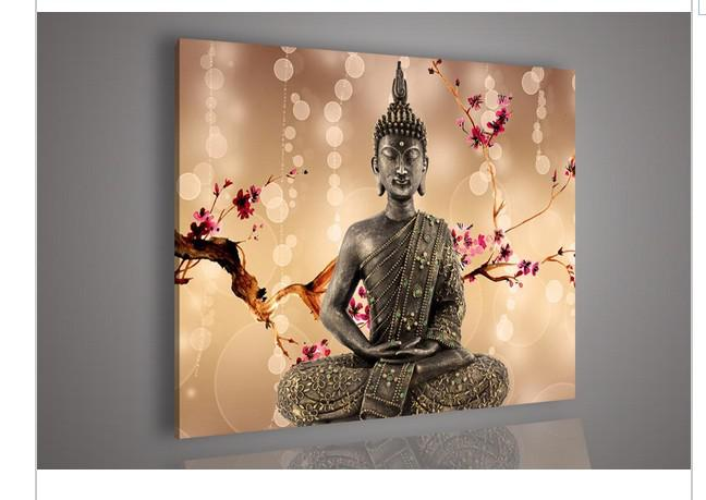 Buddha Wall Decor 2017 religion buddha wall art oil painting on canvas modern